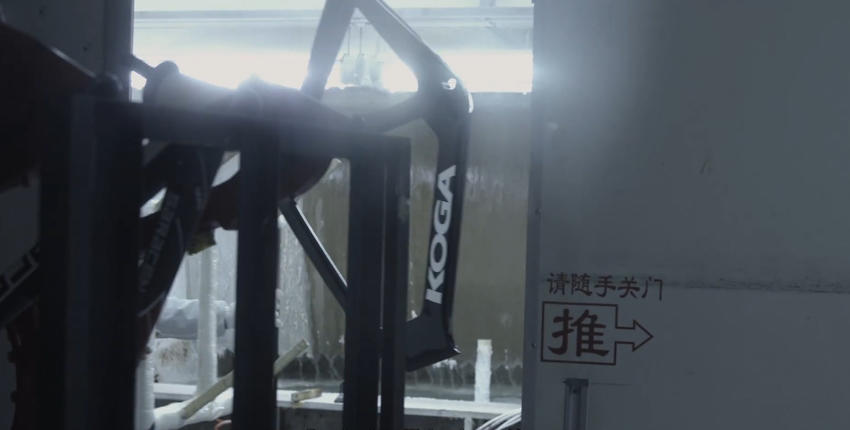 Afgereisd naar het zuiden van China, in Dongguan zodat we naar de fabriek kunnen waar de nieuwe KOGA baanfiets voor de Olympische Spelen wordt geproduceerd