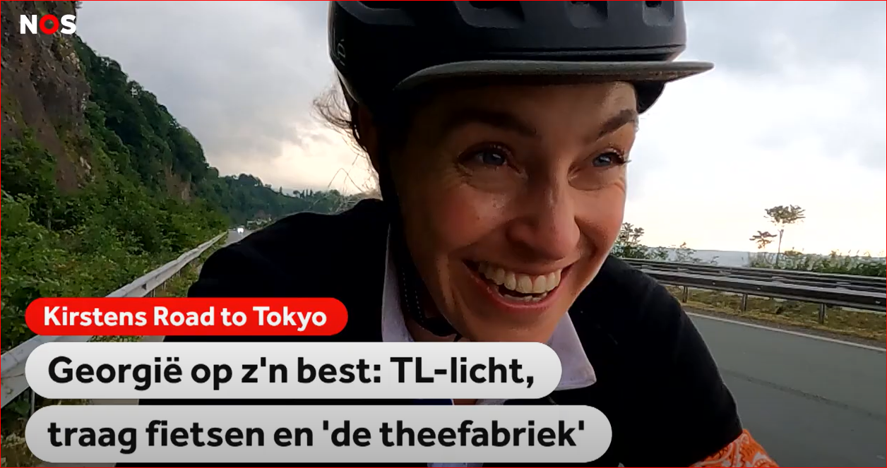 Kirsten's Road to Tokyo - Turkije - Georgië - Rusland