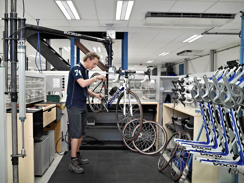 KOGA assemblers develop their own workstations