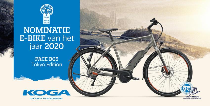 KOGA PACE B05 Tokyo Edition genomineerd als beste elektrische fiets van het jaar 2020